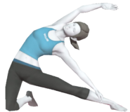 0.13.Female Wii Fit Trainer's Gate Pose