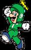 2D Propeller Luigi