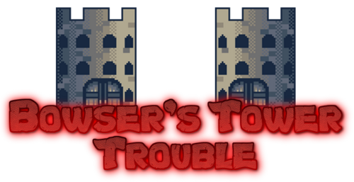 Bowser's Tower Trouble Logo
