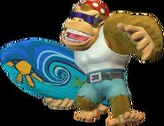 Funky Kong Surfboard