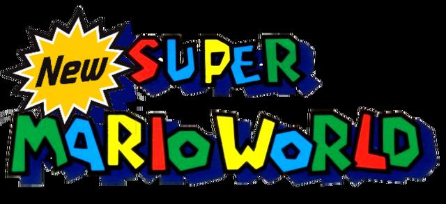 File:New Super Mario World Logo.png