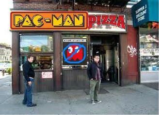 PacMan Pizza