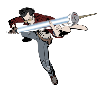 Travis touchdown vector by a scream-d80juof