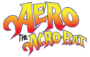 Aero the Acro-Bat logo design (Reboot) copy