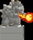 Bowser Statue SMEv