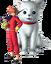 Kagura and Sadaharu - J-Stars render