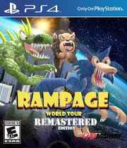 Rampage World Tour Remastered Edition Fantendo Nintendo Fanon Wiki Fandom Powered By Wikia