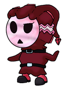 Red Marble Shy Guy New