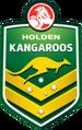 Australian kangaroos logo 2013