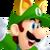 Fox Luigi Spirit Icon SSBE