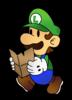 Paper Luigi The Thousand Year Door
