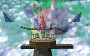 SSB Peach's Castle