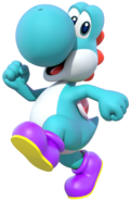 MKDX Light Blue Yoshi
