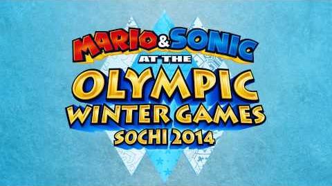 Circuit Theme (Mario Kart Double Dash) - Mario & Sonic at the Sochi 2014 Olympic Winter Games