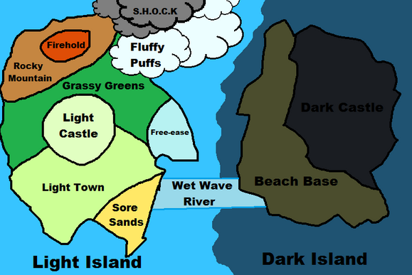 Darkness Revealed Map