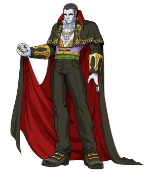 Dracula (Castlevania Portrait of Ruin)