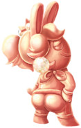 Pink Gold Rabbid Peach