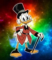 ScroogeMcDuckAltercation