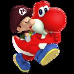 Yoshi & Baby Mario Charged Alt 1
