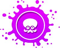 Octarian Badge Purple