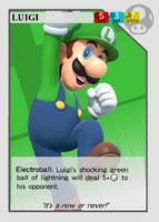 SuperSmashCards Luigi