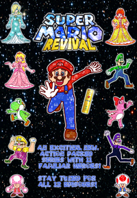 Super mario revival poster