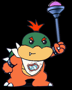 Bowser Koopa Jr 2D Art