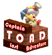 Captain Toad Lost Adventure Logo