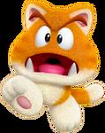 Cat Goomba Artwork - Super Mario 3D World