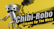 Chibi-Robo Cleans Up The Mess