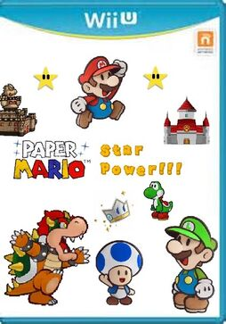 Paper Mario Star Power