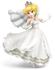 Wedding Peach alternate costume (fanmade)