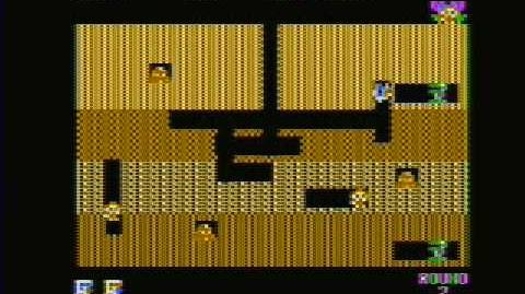 Dig Dug - Apple II - Gameplay