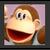 JSSB Character icon - Donkey Kong Jr.