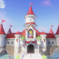 Peach's Castle SP