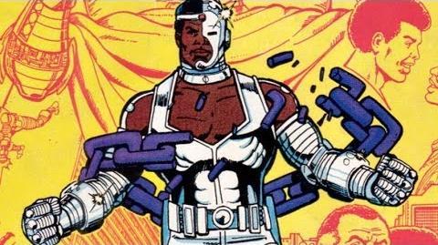Superhero Origins Cyborg-0