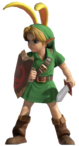 0.1.Young Link with a Bunny Hood Standing