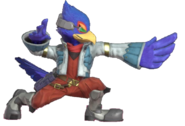 2.2.Falco's wing strike