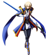 Jin Kisaragi (Chronophantasma, Character Select Artwork)