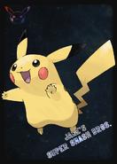 Pikachu - JSSB amiibo card