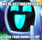 STOCK YE BURRITOS