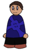 Shirt Blue Cross Generic