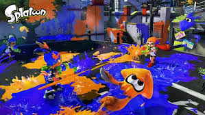 Splatoon battlefield