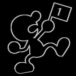 250px-Mr. Game & Watch SSBU