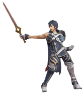 3.12.Chrom Holding his sword forward