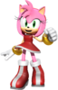 Amy rose render by jaysonjean-da2xhu0
