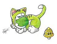 Cat yoshi by ruisunintendomasuta-d7xhxhb