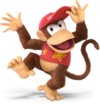 Diddy Kong SSBU Artwork