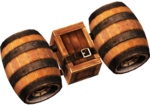 Rocketbarrel Pack - Mario Kart X