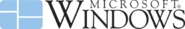 Windows logo and watermark - 1985